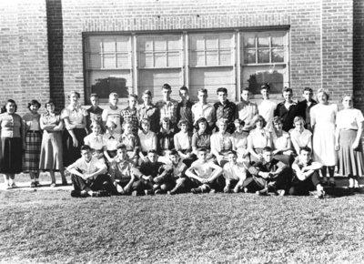 Whitby High School Grade 10 Class, 1954