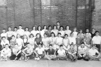 Colborne Senior Public School Grade 6 Class, 1958