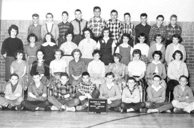 Colborne Senior Public School Grade 7 Class, 1961