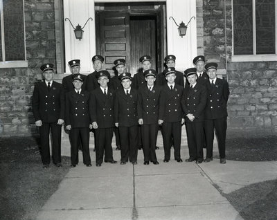 Whitby Fire Department, 1954