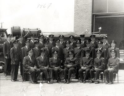 Garrard Road Fire Department, 1967