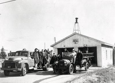 Garrard Road Fire Department, c.1956