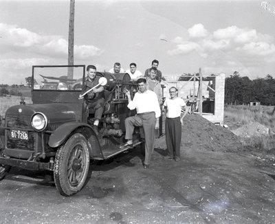 Garrard Road Fire Department, 1955