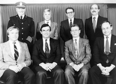 Whitby Town Staff, 1989
