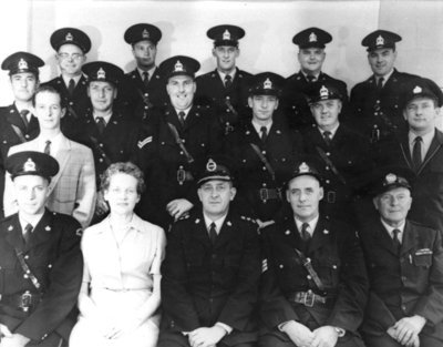 Whitby Police Department, 1961