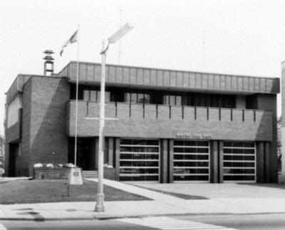 Brock Street Fire Hall, 1969