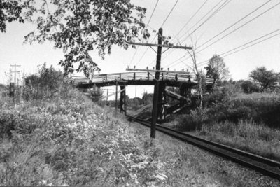 Rossland Road CPR Bridge, 2000