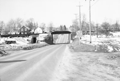 Dundas Street CPR Overpass, 1965