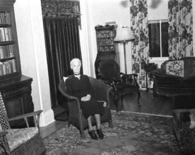Barbara Barnes (nee Farr), 1955