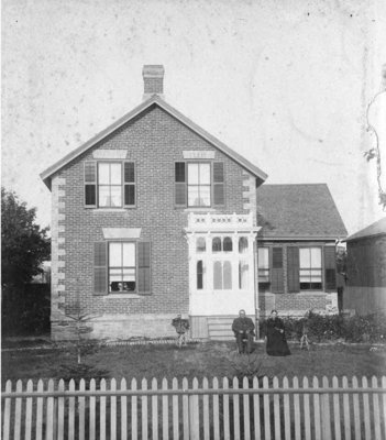 Residence of Frederick Mudge, c.1885