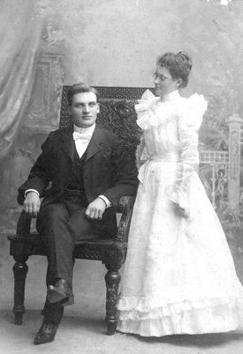 Frederick and Mary Rowe, 1898