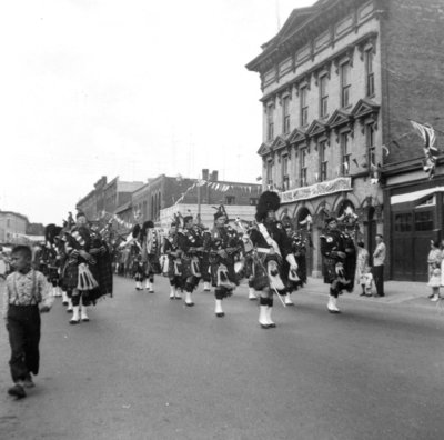 Whitby Centennial Parade, July 1, 1955