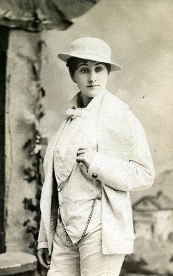 Flora Irwin, c.1875
