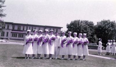 Nursing Graduating Class, 1955