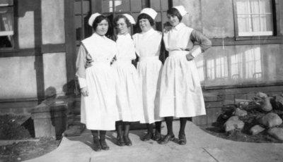 Nurses at Ontario Hospital, 1929