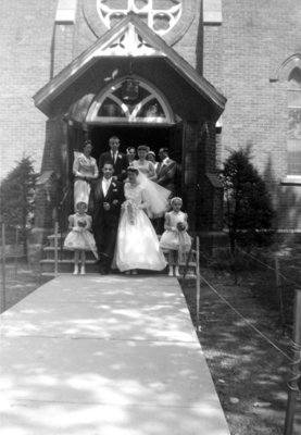 Wedding at St. John the Evangelist Roman Catholic Church