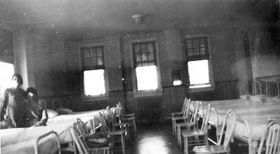 Nurses Room Interior, 1928.