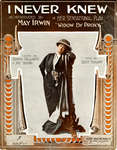 May Irwin Sheet Music - I Never Knew