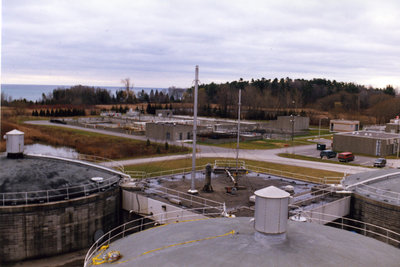 Corbett Creek Water Pollution Control Centre, ca.1989-1994
