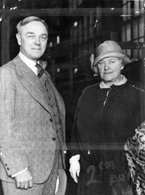 Kurt Eisfeldt and May Irwin, 1927