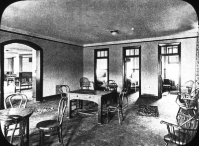 Ontario Hospital Cottage Interior, ca.1920