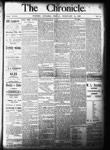 Whitby Chronicle, 14 Feb 1896