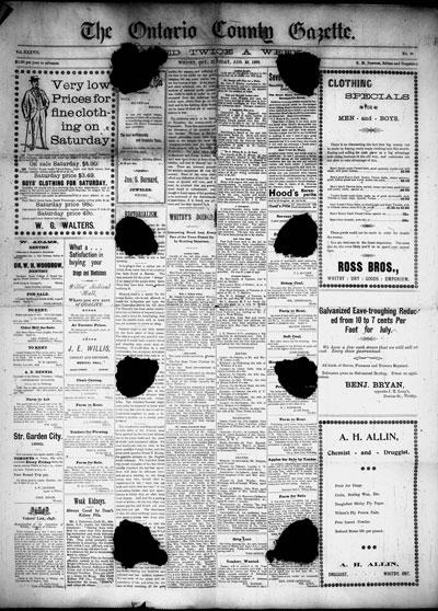 Ontario County Gazette