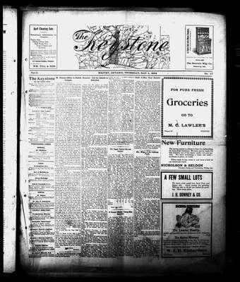 Whitby Keystone, 4 May 1905