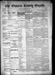 Ontario County Gazette, 10 Nov 1899