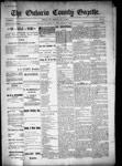 Ontario County Gazette, 10 Nov 1899