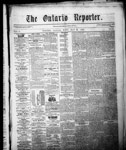 Ontario Reporter, 22 May 1852