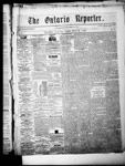 Ontario Reporter, 29 May 1852