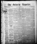 Ontario Reporter, 4 Dec 1852