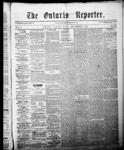 Ontario Reporter, 11 Dec 1852