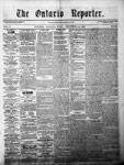 Ontario Reporter, 18 Dec 1852