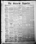 Ontario Reporter, 25 Dec 1852