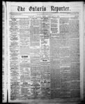 Ontario Reporter, 8 Jan 1853