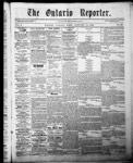 Ontario Reporter, 15 Jan 1853