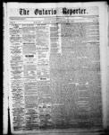 Ontario Reporter, 22 Jan 1853