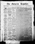 Ontario Reporter, 12 Mar 1853