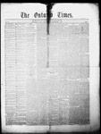 Ontario Times, 27 Mar 1858