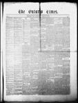 Ontario Times, 10 Apr 1858