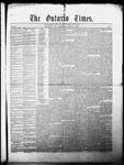 Ontario Times, 1 May 1858