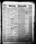 Whitby Chronicle, 1 Feb 1866