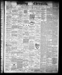 Whitby Chronicle, 18 Jul 1878