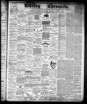 Whitby Chronicle, 8 Aug 1878