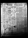 Whitby Chronicle, 5 Dec 1884