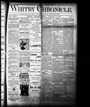 Whitby Chronicle, 28 Jan 1887