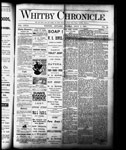 Whitby Chronicle, 1 Jul 1887