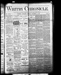 Whitby Chronicle, 21 Oct 1887
